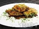 Рецепта Пържени магданозени кюфтенца с млечен сос